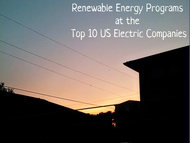 electric companies