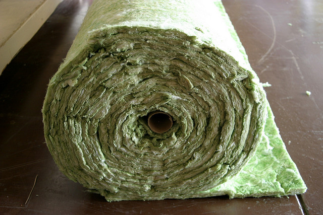 """Insulation Roll"" by Mark Evans // CC BY"