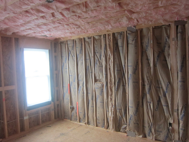 adding insulation for energy efficiency