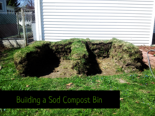 Building a Sod Compost Bin