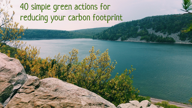 simple green actions to start today