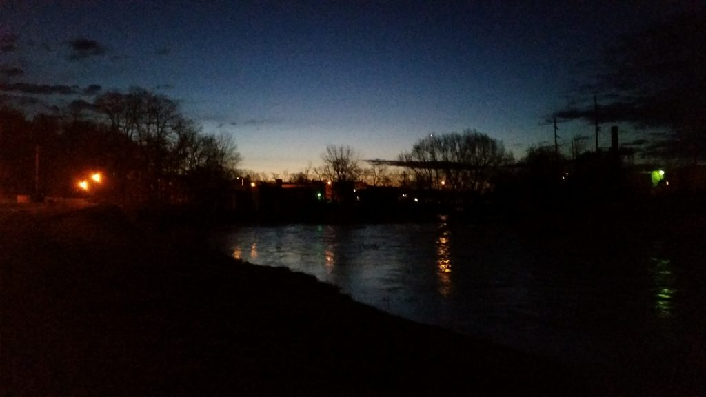baraboo river sunrise